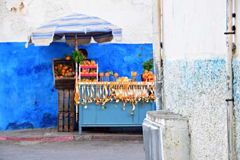 Juice Seller in Oudayas