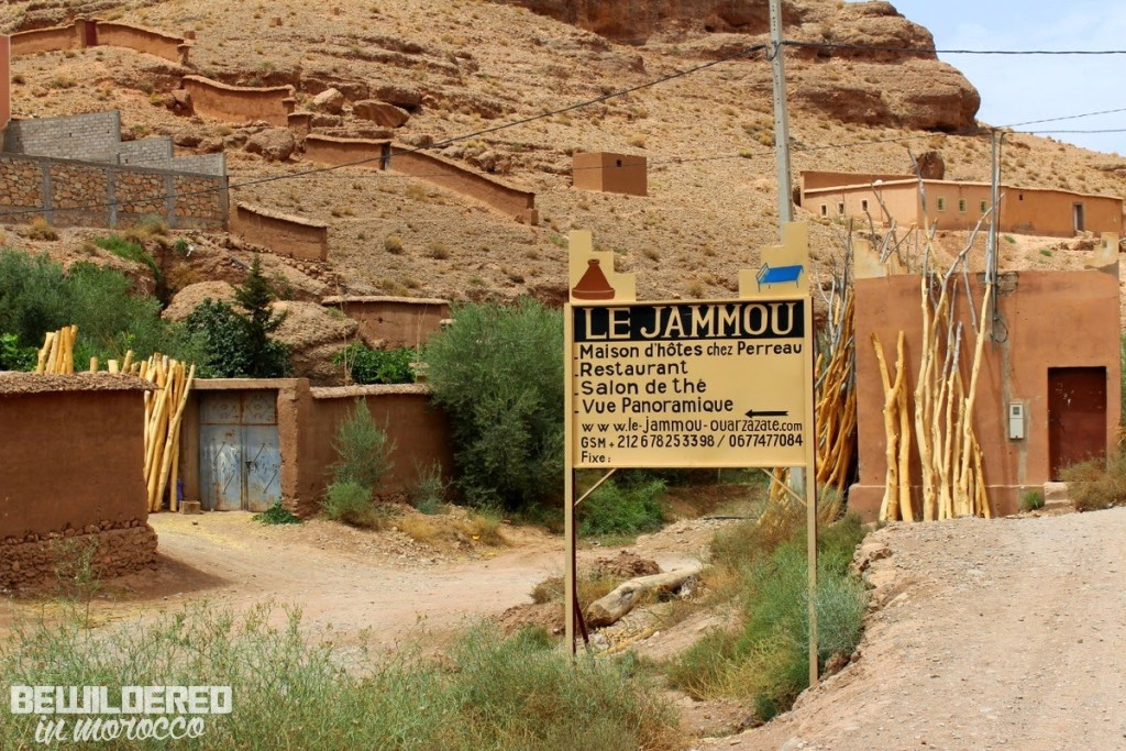 kasbah guest house eco auberge youth hostel interior berber bed design view peaceful mountains