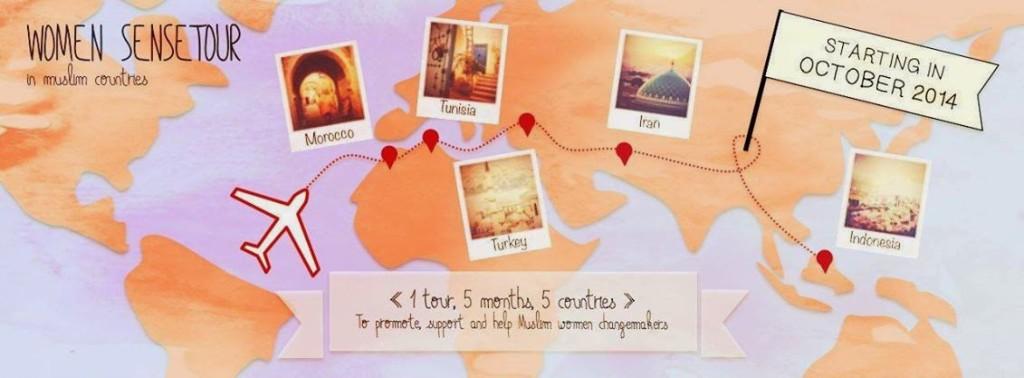 laptop acer woman sense tour around the world sarak zouak facebook logo map of world islamic