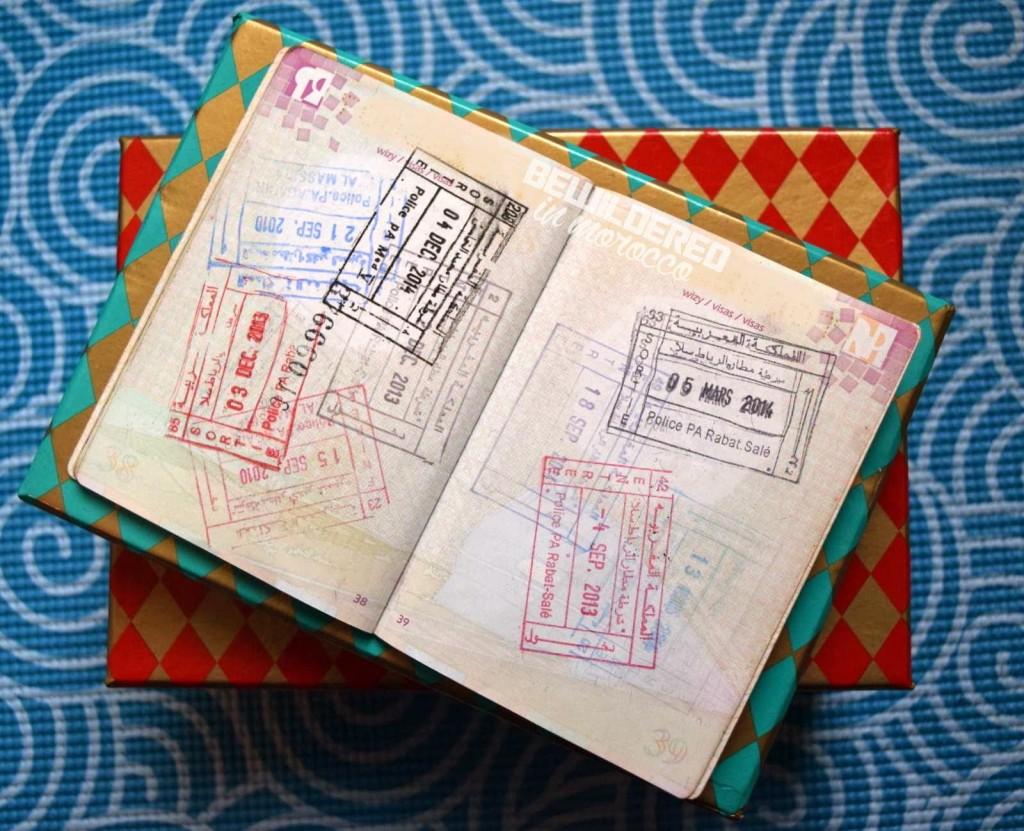 bruised passports brits poles polish polska maroc maroko morocco paszport stary nowy jak wyglada id stamp i prefer moments over things adventure yoga mat box pieczatka