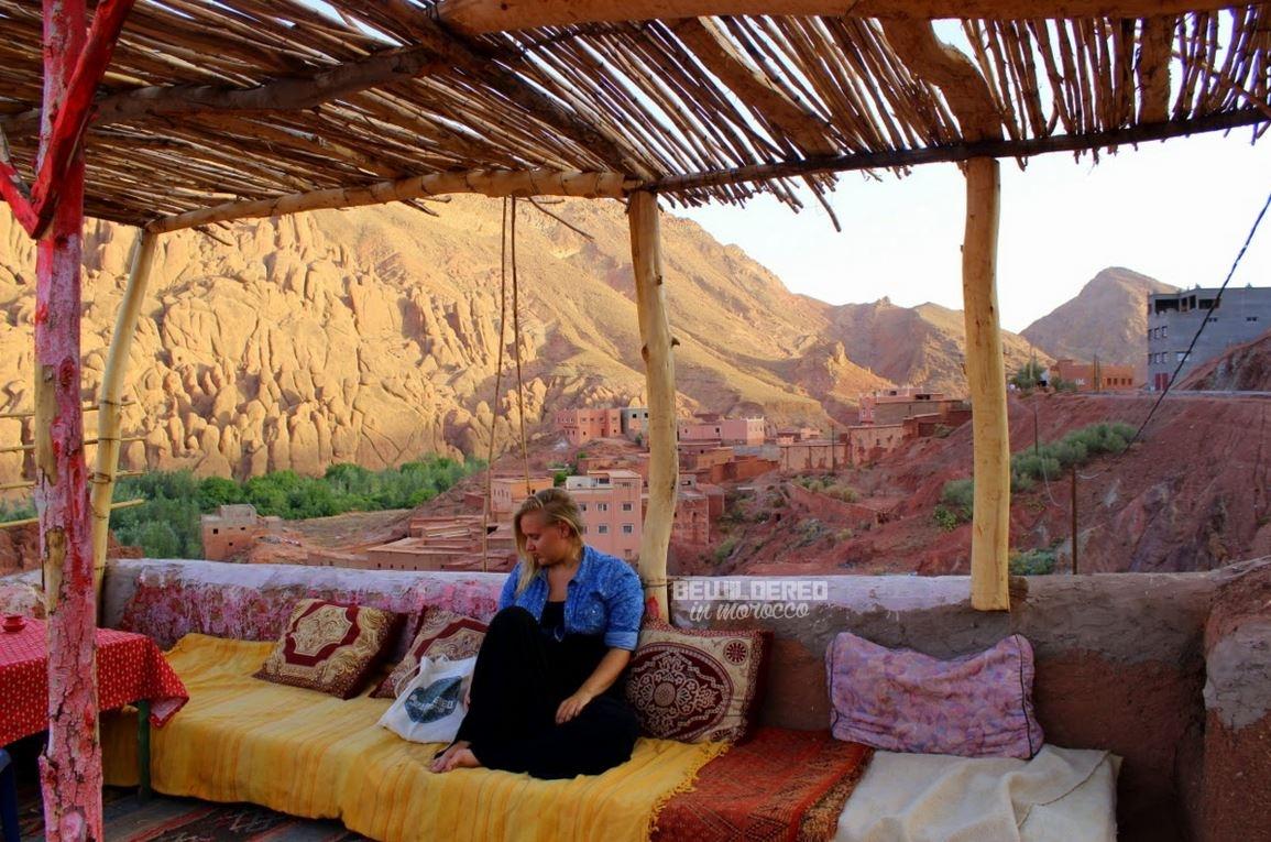 high atlas hiking trekking morocco toubkal mount tichkadades boumalne