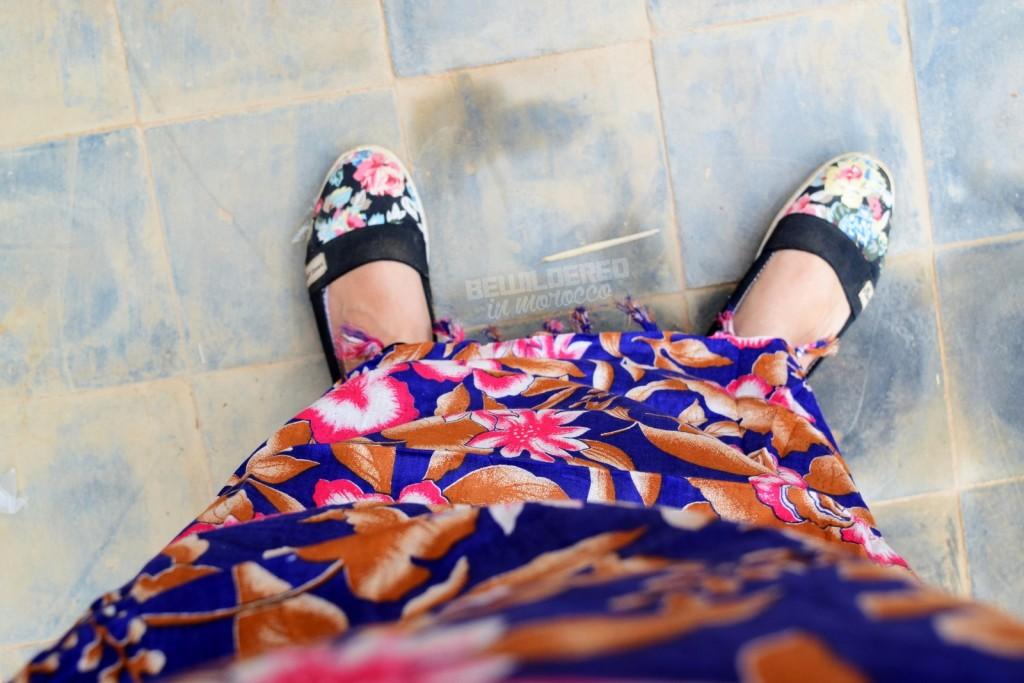 Sahara style dress