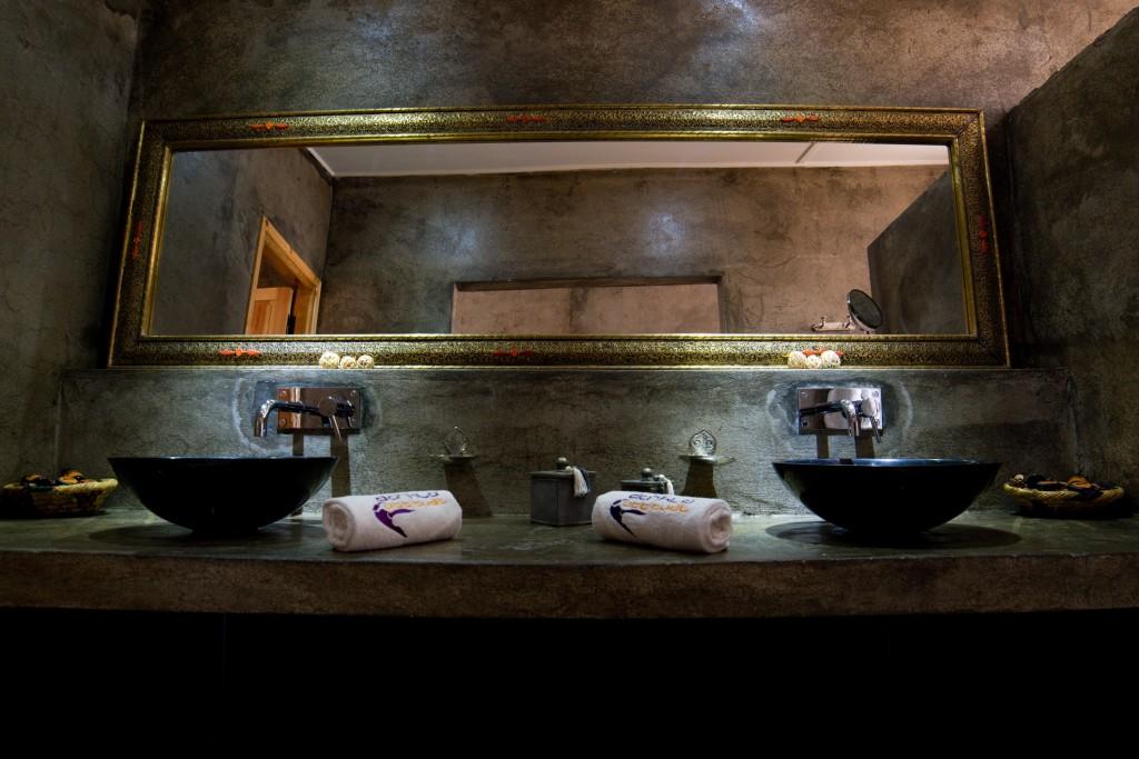 bathroom of the VIP bungalow