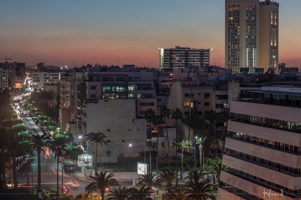 Casablanca's sunset