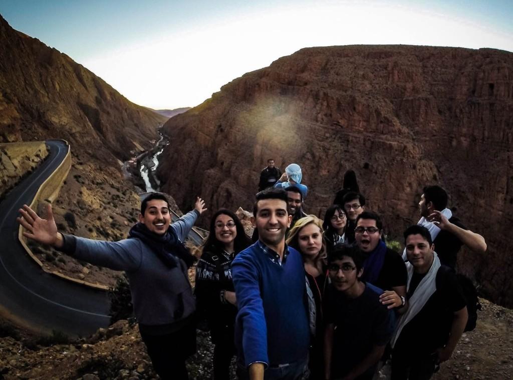 Dades Valley, South of Morocco, Atlas mountains , japanese, korean, tourist, morocco, maroc