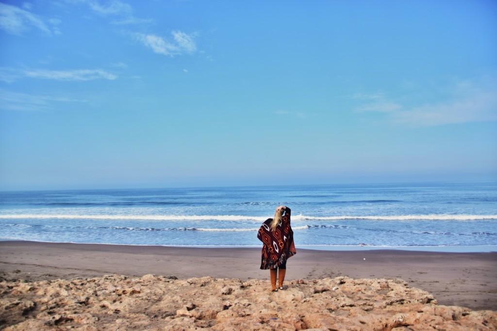 pull&bear kardigan long boots tamaris casablanca beach plage