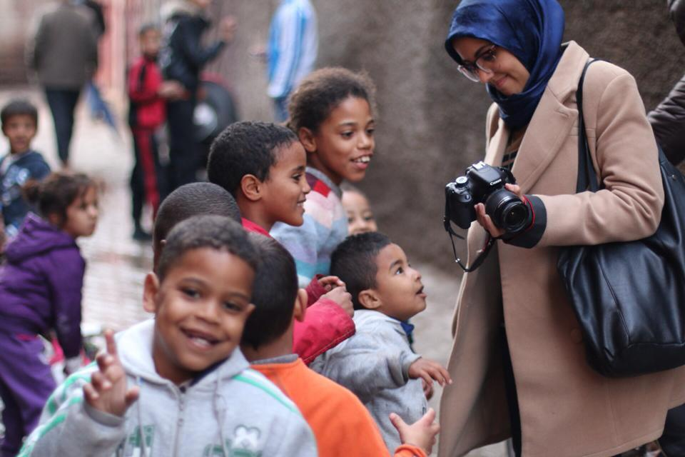 hind blogger canon kids african africa morocco maroc unicef