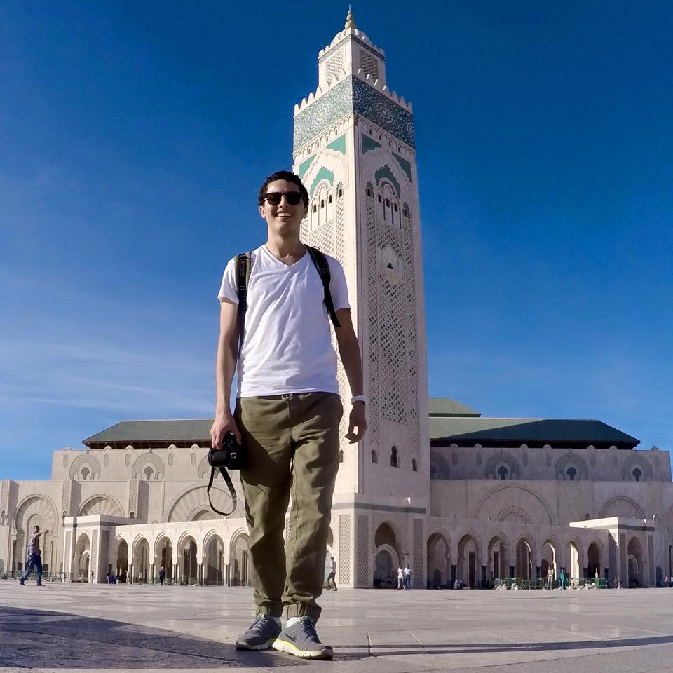 casablanca hassna II second mosque meczet hassana w casablance minaret zellij blogger