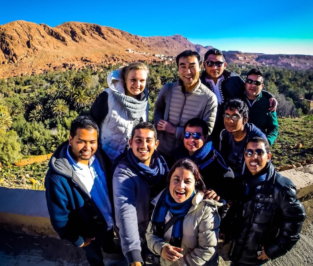 Chilean Bengali American Expats in Morocco