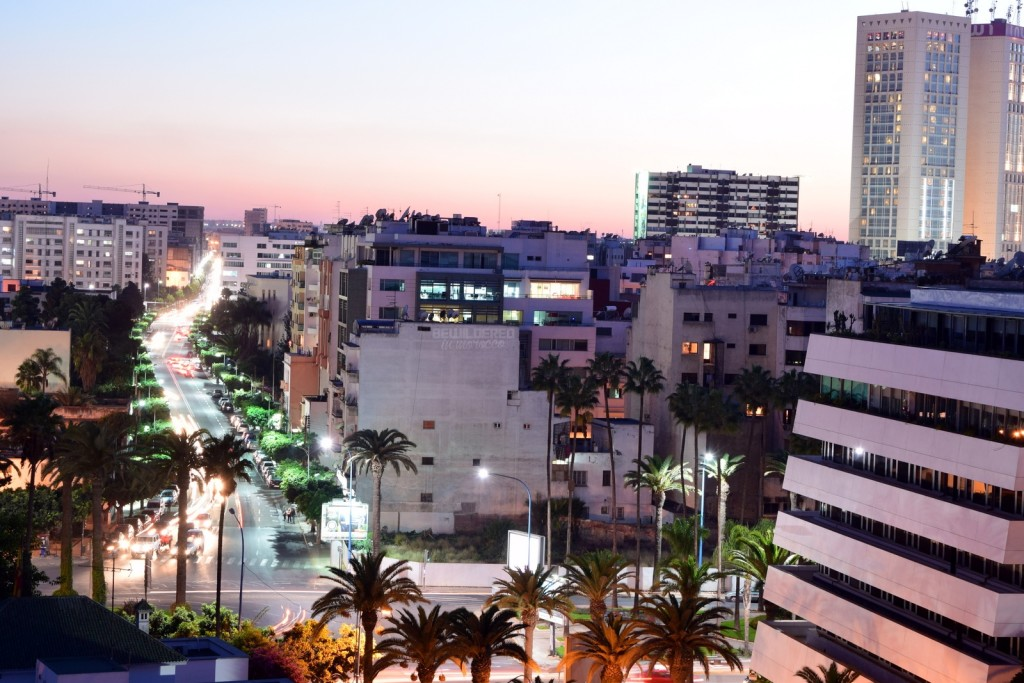 Casablanca City By Night