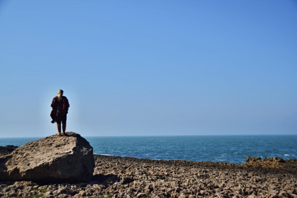 Tamaris Beach, Grand Casablanca ocean vaganbond digital nomad spot morocco