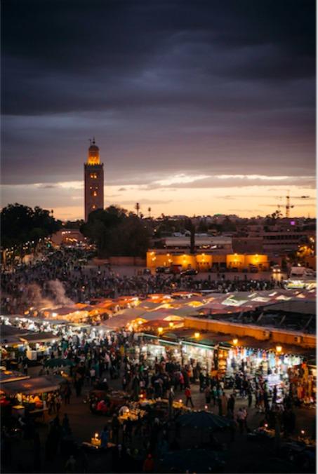 Marrakech. Photo credit: Chris Griffiths