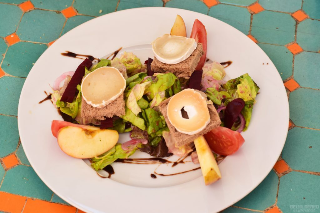 Goat Cheese Salad at Amal Restaurant