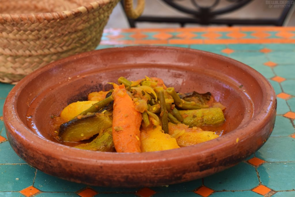 Vegetarian Tagine at Amal Restaurant