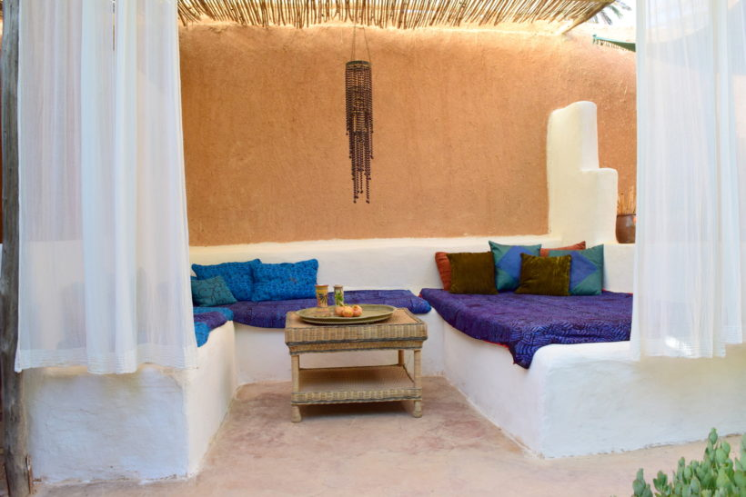 anette wiklund just morocco architec interior designer patio house home in the desert oasis