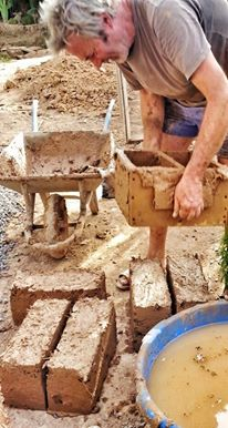 Building with mud
