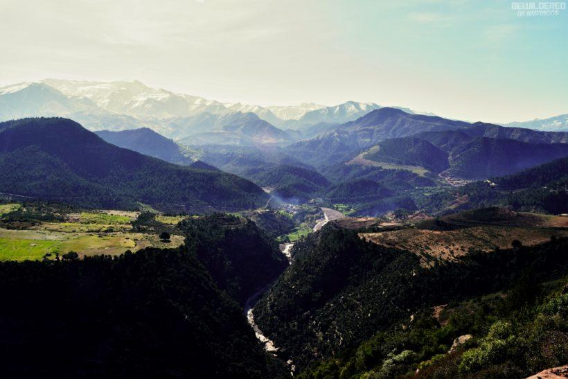 high atlas hiking trekking morocco toubkal mount tichka