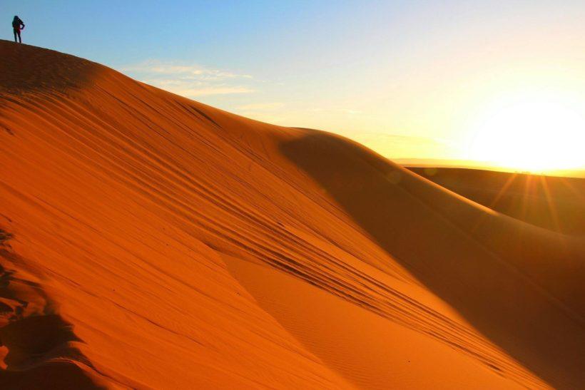 pustynia wycieczka monika polka w maroku sahara